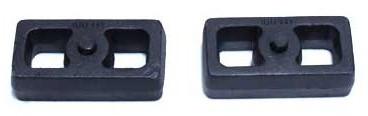"""2004-2022 Nissan Titan 2wd/4wd 2"""" Cast Lift Blocks - MaxTrac 810020"""