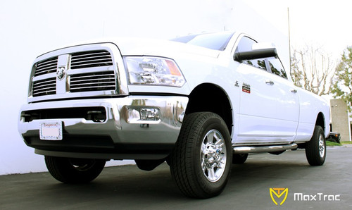 """2002-2012 Dodge RAM 3500 4wd 2"""" Lift Front Coil Spacer - MaxTrac 832625 (Installed Front)"""