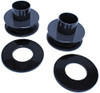 """2005-2020 Ford F-350 Super Duty 4wd 2.5"""" Lift Front Coil Spacers (Top Mount) - MaxTrac 833725"""