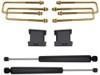 """2007-2018 GMC Sierra 1500 2wd 2"""" Lift Blocks & U-Bolts W/ MaxTrac Rear Shocks - MaxTrac 901330"""