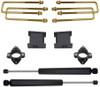"""2007-2018 GMC Sierra 1500 2wd 3"""" Front/4"""" Rear Lift Kit W/ Rear Shocks - MaxTrac 901340"""