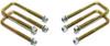 """1988-1998 Chevy Silverado 1500 2wd U-Bolts For 1""""-1.5"""" Lift Blocks - MaxTrac 910101"""