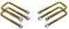 """2007-2018 GMC Sierra 1500 2wd/4wd U-Bolts For 1""""-1.5"""" Lift Blocks - MaxTrac 910101"""