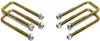 "1994-2001 Dodge RAM 1500 2wd U-Bolts For 1""-1.5"" Lift Blocks - MaxTrac 910101"