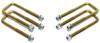 """2007-2021 Toyota Tundra 2wd/4wd U-Bolts For 1""""-1.5"""" Lift Blocks - MaxTrac 910101"""