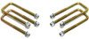 "1988-1998 GMC Sierra 1500 2wd U-Bolts For 2"" Lift Blocks - MaxTrac 910102"