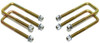 "1988-1998 Chevy & GMC SUV 2wd U-Bolts For 2"" Lift Blocks - MaxTrac 910102"