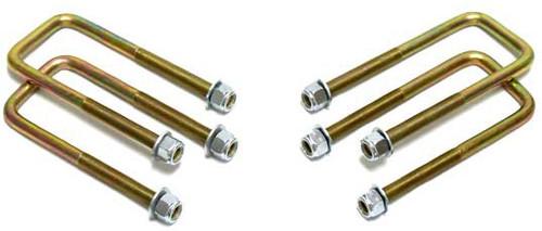 """2001-2010 GMC Sierra 1500HD, 2500HD & 3500HD 2wd/4wd U-Bolts For 1""""-2"""" Lift Blocks - MaxTrac 910104"""