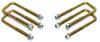 """1988-1998 Chevy Silverado 1500 2wd U-Bolts For 3"""" & 4"""" Lift Blocks - MaxTrac 910104"""
