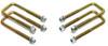 """1988-1998 GMC Sierra 1500 2wd U-Bolts For 3"""" & 4"""" Lift Blocks - MaxTrac 910104"""