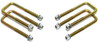 "1988-1998 Chevy & GMC SUV 2wd U-Bolts For 3"" & 4"" Lift Blocks - MaxTrac 910104"