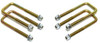 "1999-2006 Chevy Silverado 1500 2wd U-Bolts For 3"" & 4"" Lift Blocks - MaxTrac 910104"