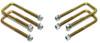 """2007-2018 Chevy Silverado 1500 2wd/4wd U-Bolts For 3"""", 4"""" & 5"""" Lift Blocks - MaxTrac 910104"""