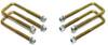 """2007-2018 GMC Sierra 1500 2wd/4wd U-Bolts For 3"""", 4"""" & 5"""" Lift Blocks - MaxTrac 910104"""