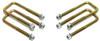 """2007-2021 Toyota Tundra 2wd/4wd U-Bolts For 3"""" & 4"""" Lift Blocks - MaxTrac 910104"""