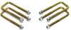 """2004-2020 Nissan Titan 2wd/4wd U-Bolts For 3"""" & 4"""" Lift Blocks - MaxTrac 910104"""