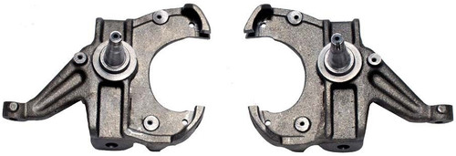 """1973-1987 GMC C10 2wd W/ 1"""" Thick Rotors 2.5"""" Lowering Spindles - MaxTrac 101125L"""