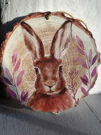 Hare Wall Plaque