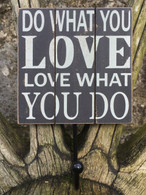Wall Hook Plaque -Do what you love