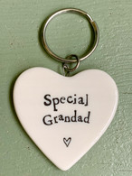 East Of India - Porcelain Special Grandad Keyring