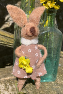 Woollen Decorative Hanging Bunny