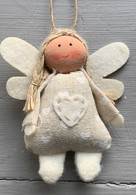 Spotted Fabric Angel