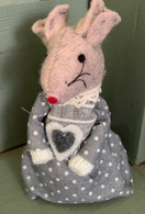 Standing Grey Dressed Mouse