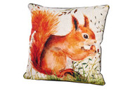 Large Red Squirrel Cushion