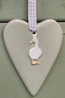 Ceramic Duck Heart