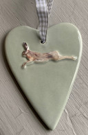 Ceramic Hare Heart