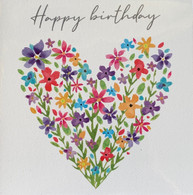 Wildflower Happy Birthday Card