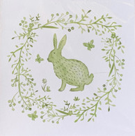 Green Hare Card