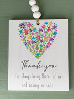 Thank You - Hanging Plaque
