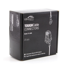 Ubiquiti TC-GND Box Of 20, Tough Cable Connectors CAT5 RJ45 plug. ( TC GND )