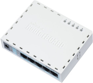 MikroTik RB750GL Routerboard 5 ports Switch Router 400MHz POE Ro ( RB750GL )