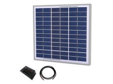 Tycon Systems TPSK12-30W 30W Complete Solar Kit with 20A Controller, 12V (TPSK12-30W)