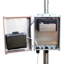 Tycon Systems UPS-DC1224-9 UPSPRO - 12V Battery, 24V PoE Outdoor Backup Power System 12V 9AH