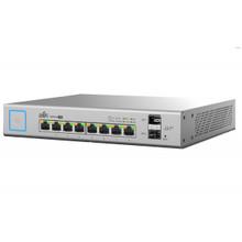 Ubiquiti 8-Port 150W Managed PoE+ Gigabit Switch with SFP (US-8-150W)