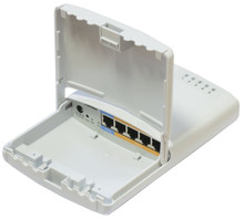 MikroTik RB750P-PBr2 64MB Router 5x10/100 4xPOE-OUT OSL4 Outtdoor case (RB750P-PBr2)
