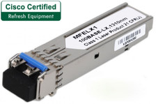 Cisco MFELX1-RF Refresh 100 Base-LX Mini-GBIC SFP Transceiver (MFELX1-RF)