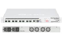 Mikrotik Cloud Core Router 1072-1G-8S+ 72-cores 1.2Ghz 16GB 8xSFP+ 1xGbit OSL6 1U 2 Hot PSU LCD pane (CCR1072-1G-8S+)
