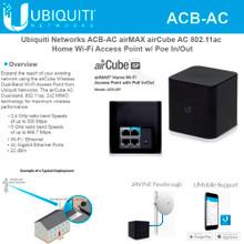 Ubiquiti ACB-AC-US airCube Wireless-AC1167 Dual-Band Wi-Fi AP (ACB-AC)
