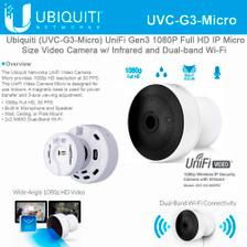 Ubiquiti Networks UniFi Series UVC-G3-MICRO 1080p Wi-Fi Network Bullet Camera (UVC-G3-MICRO)