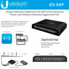 Ubiquiti EdgeSwitch ES-8XP Ethernet Switch (ES-8XP)