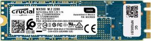 Crucial MX500 250GB 3D NAND SATA M.2 Type 2280SS Internal SSD (CT250MX500SSD4)