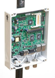 MikroTik CAOTS RouterBOARD White Plastic Small Outdoor Case 1 x Ethern