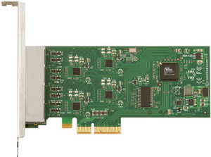 MikroTik  RB/44Ge Routerboard, PCIe, Atheros AR8131/M, Four 10/100/1000T ( RB/44Ge )