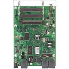 MikroTik RB/433UAHL Routerboard, Atheros AR7161, 6810MHz CPU speed, 128 ( RB/433UAHL )