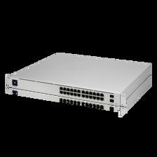 Ubiquiti USW-Pro-24-PoE UniFi Pro PoE 24-Port Gigabit Managed PoE Network Switch with SFP+ (USW-Pro-24-PoE)