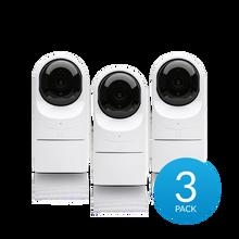 Ubiquiti UVC-G3-Flex Video Camera G3 Full HD 1080p Flex PoE Camera (3-Pack) (UVC-G3-FLEX-3)